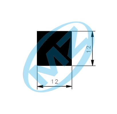 Ocel čtvercová 12