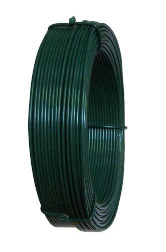 Drát napínací PVC 33m/zelený