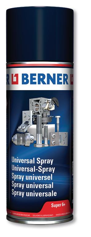 Univerzální sprej super 6+ 400ml Berner (alternativa WD)